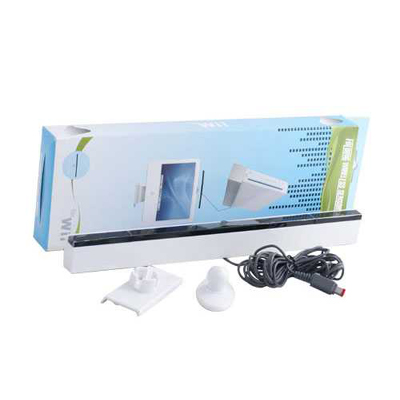 : Wii Wired Sensor Bar 360-degree Rotation