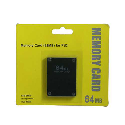 PS2 Real 64MB Memory Card