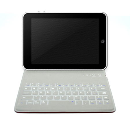 Bluetooth Keyboard Folding Stand Leather Case Cover for iPad Mini