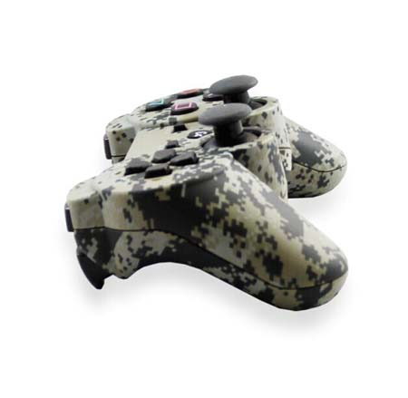 PS3 Bluetooth handle camouflage appearance