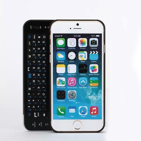 Wireless Bluetooth 3.0 Slide-out Keyboard with Backlight for iPhone 6