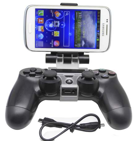 PS4 game controller mount holder for Smartphone