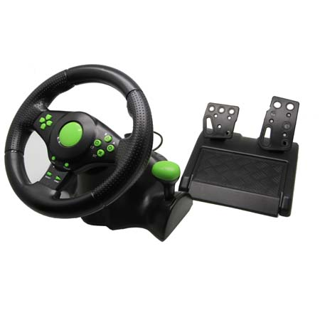 4in1  Gaming Steering Wheel for XBOX 360/PS3/PS2/PC